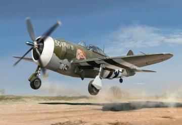 P-47D Razor Back · KIN K3208 ·  Kinetic Model Kits · 1:24