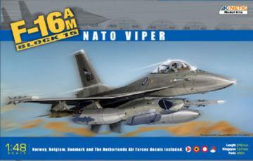 F-16A MLU Block 10 · KIN K48002 ·  Kinetic Model Kits · 1:48