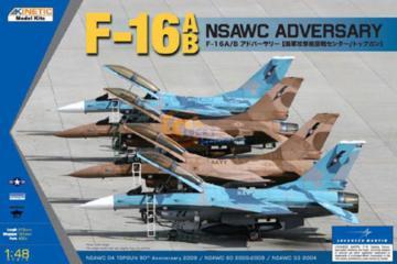 F-16A/B NSWAC Agressor · KIN K48004 ·  Kinetic Model Kits · 1:48