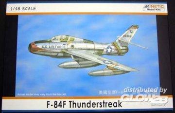 F-84F Thunderstreak · KIN K4801 ·  Kinetic Model Kits · 1:48