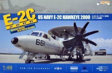 E-2C 8 Blades · KIN K48016 ·  Kinetic Model Kits · 1:48
