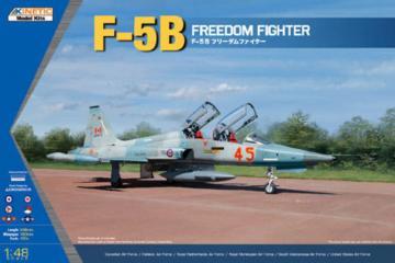 F-5B/CF-5B/NF-5B Freedom Fighter · KIN K48021 ·  Kinetic Model Kits · 1:48
