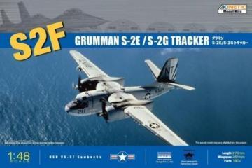 S-2E/F Tracker · KIN K48024 ·  Kinetic Model Kits · 1:48