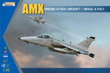 AMX Single Seat Fighter · KIN K48026 ·  Kinetic Model Kits · 1:48