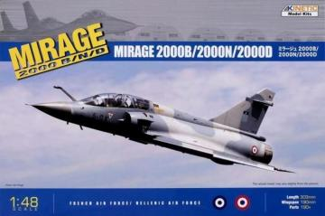 Mirage 2000 B/D/N · KIN K48032 ·  Kinetic Model Kits · 1:48