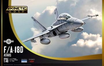 F/A-18D · KIN K48033 ·  Kinetic Model Kits · 1:48