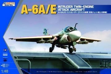 A-6A/E Intruder Twin Engine Attack · KIN K48034 ·  Kinetic Model Kits · 1:48