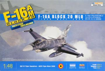 F-16A Tiget Meet 2009 (W/PE) · KIN K48036 ·  Kinetic Model Kits · 1:48
