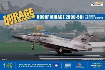 Mirage 2000D-5i ROCAF · KIN K48037 ·  Kinetic Model Kits · 1:48