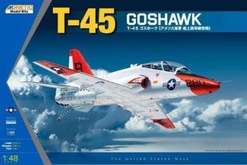 T-45A/C Goshawk Navy Trainer Jet · KIN K48038 ·  Kinetic Model Kits · 1:48