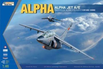 Alpha Jet A/E · KIN K48043 ·  Kinetic Model Kits · 1:48