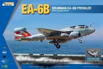 EA-6B (New Wing) Grumman Prowler · KIN K48044 ·  Kinetic Model Kits · 1:48