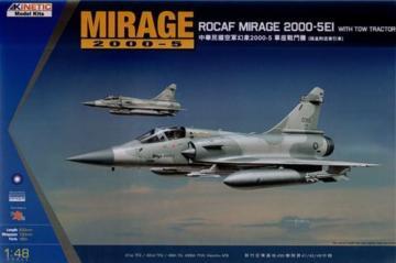 Mirage 2000C ROCAF W/Tractor · KIN K48045 ·  Kinetic Model Kits · 1:48