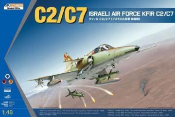 KFIR C2/C7 Israeli Air Force · KIN K48046 ·  Kinetic Model Kits · 1:48