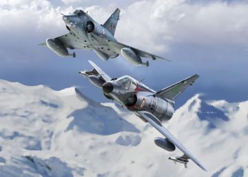 Mirage IIIE/O/R/RD · KIN K48050 ·  Kinetic Model Kits · 1:48