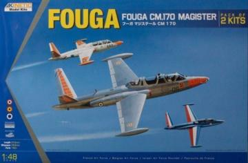 Fouga Magister CM 170 · KIN K48051 ·  Kinetic Model Kits · 1:48
