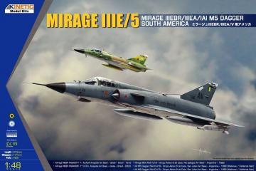 South American Mirage IIIE/V · KIN K48052 ·  Kinetic Model Kits · 1:48
