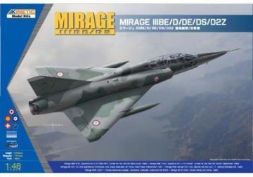 Mirage IIID/DS · KIN K48054 ·  Kinetic Model Kits · 1:48
