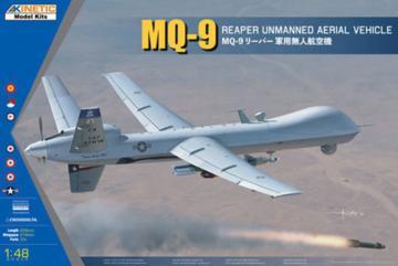 MQ-9 REAPER w/GBU-12 · KIN K48067 ·  Kinetic Model Kits · 1:48