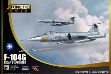 F-104G ROCAF · KIN K48077 ·  Kinetic Model Kits · 1:48