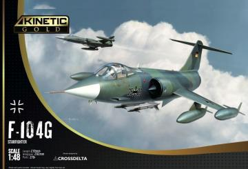 F-104G Starfighter Germany Air Force and Marine · KIN K48083 ·  Kinetic Model Kits · 1:48
