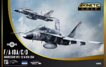 F/A-18A/D Aggressor · KIN K48088 ·  Kinetic Model Kits · 1:48