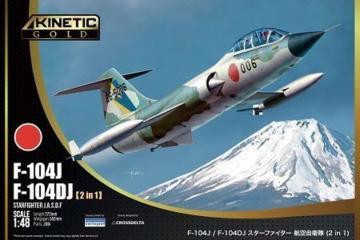 F-104DJ / F-104J Starfighter · KIN K48092 ·  Kinetic Model Kits · 1:48