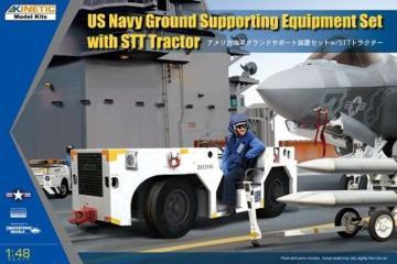 Modern USN GSE w/ STT tractor · KIN K48115 ·  Kinetic Model Kits · 1:48