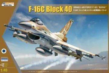 F-16C Block 40 IDF Barak · KIN K48129 ·  Kinetic Model Kits · 1:48