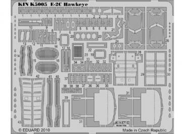 E-2C exterior · KIN K5005 ·  Kinetic Model Kits