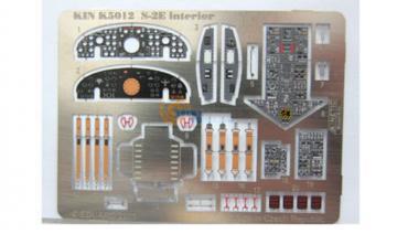 S-2E interior color PE · KIN K5012 ·  Kinetic Model Kits