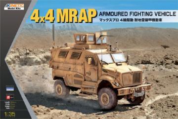 4x4 MRAP Armored Fighting Vehicle · KIN K61011 ·  Kinetic Model Kits · 1:35