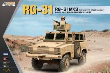RG-31 MK3 US Army · KIN K61012 ·  Kinetic Model Kits · 1:35