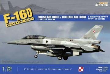 F-16D52+ Hellenic Air Force/Polish Air Force · KIN K72002 ·  Kinetic Model Kits · 1:72