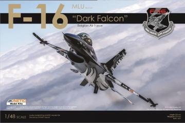 F-16 Dark Falcon Belgian Air Force - Limited Edition · KIN KIB48002 ·  Kinetic Model Kits · 1:48