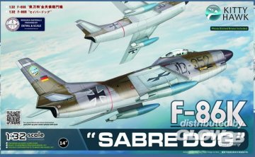 F-86K SABRE DOG · KH 32008 ·  Kitty Hawk · 1:32