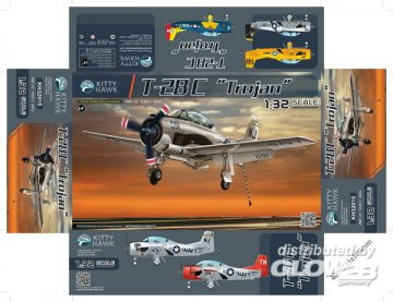 T-28C Trojan · KH 32015 ·  Kitty Hawk · 1:32