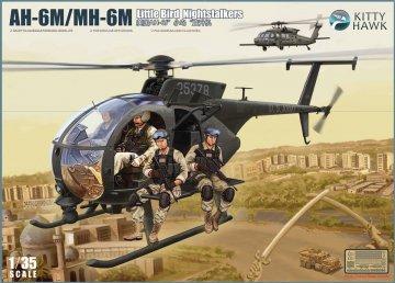 AH-6M/MH-6M - Little Bird Nightstalkers · KH 50002 ·  Kitty Hawk · 1:35