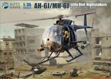 AH-6J/MH-6J Little Bird Nightstalkers · KH 50003 ·  Kitty Hawk · 1:35