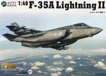 F-35A Lightning II, Version 2.0 · KH 80103 ·  Kitty Hawk · 1:48