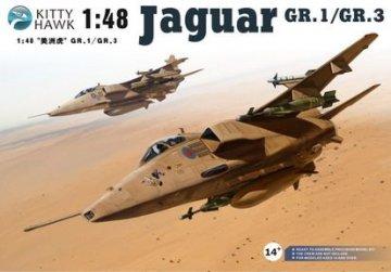 Jaguar GR.1/3 Sepecat · KH 80106 ·  Kitty Hawk · 1:48