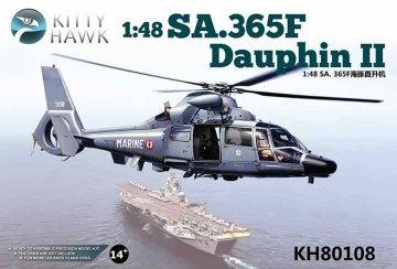 SA.365F/AS.565SA Dauphin II · KH 80108 ·  Kitty Hawk · 1:48
