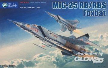 MiG-25 RB/RBT Foxbat · KH 80113 ·  Kitty Hawk · 1:48