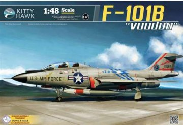 F-101B/RF-101B Voodoo · KH 80114 ·  Kitty Hawk · 1:48