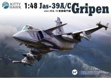 Jas-39A/C Gripen · KH 80117 ·  Kitty Hawk · 1:48