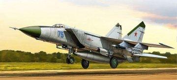 MIG-25 Foxbat · KH 80119 ·  Kitty Hawk · 1:48