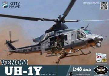 UH-1Y Venom · KH 80124 ·  Kitty Hawk · 1:48