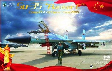 Sukhoi Su-35 PLAAFVersion2.0 · KH 80128 ·  Kitty Hawk · 1:48