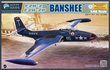 F2H-2 / F2H-2P Banshee · KH 80131 ·  Kitty Hawk · 1:48
