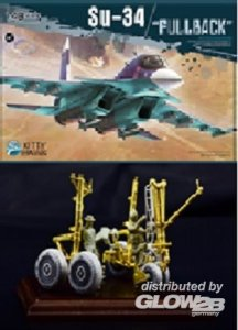 Su-34 Fullback - with metal parts · KH 80141-2 ·  Kitty Hawk · 1:48